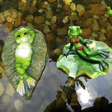 aliexpress buy new creative garden pond frog floating