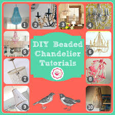 Beaded Chandelier Diy Diy Beaded Chandelier Tutorials Fizzy Pops