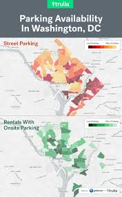Portland Parking Map Best And Worst Places For Renters To Park In The Big City