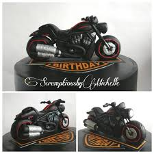harley davidson cake toppers harley davidson themed cake with the rod topper handmade