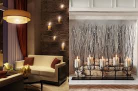 decorating rooms with candles in different striking ways