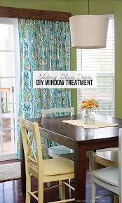 curtains for glass doors diy window treatment for sliding glass doors