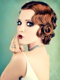 1920 s inspired pin curls another bobbed look for las with mid length hair