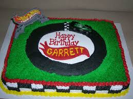wheels race track cake cakecentral com