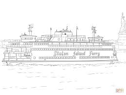 staten island ferry coloring page free printable coloring pages