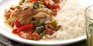 cuisine poulet basquaise poulet basquaise facile facile recette sur cuisine actuelle