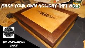 How To Build A Wooden Table How To Build A Wooden Gift Box Christmas Series 4 Youtube