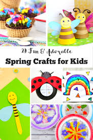 20 fun and adorable spring crafts for kids mum in the madhouse