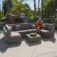 Wicker Sectional Patio Furniture by Sectional Outdoor Furniture On Sale