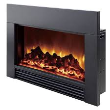 Electric Fireplace Insert Dynasty Electric Electric Fireplace Insert Reviews Wayfair
