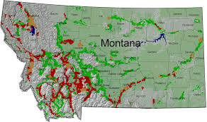 Map Of Montana State by American Farmland Trust Resources Strategic Ranchland In The