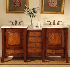 Double Vanity With Tower Asian Vanities For A Relaxing Asian Style Bathroom