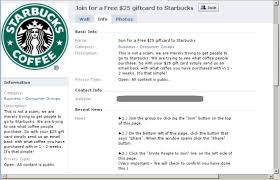 gift cards email anatomy of a free starbucks gift card scam security