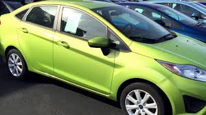 2011 ford fiesta green manual 5 speed stick stock 10593 near