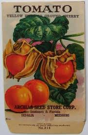 vintage seed packets archias seed store tomato 314 vintage seed packets
