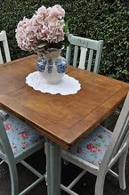 Shabby Chic Kitchen Table by Shabby Chic Dining Table 4 Chairs Kitchen Rustic Farmhouse Pine