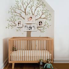 Vinyl Tree Wall Decals For Nursery by Narrow Family Tree Decal Two Colors Wall Decals