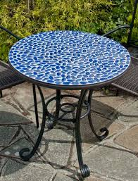 Tile Bistro Table Faro Mosaic Bistro Table Mosaictables Pinterest Mosaics And