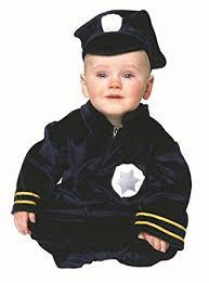 cop costume newborn baby cop costume 0 6 months clothing