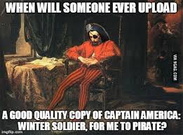 Upload Meme - sad internet pirate meme anyone 9gag