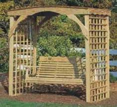arbor swing plans free here arbor swing plans free the woodwork