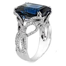 sapphire emerald cut engagement rings images of emerald shape engagement rings ring ideas