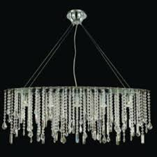 Oval Crystal Chandelier Black And White Chandelier Oval Crystal Chandelier Crystal