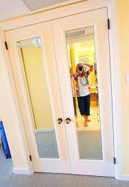 How To Hang A Closet Door Mirror Design Ideas Bedroom Ideas Cheap Mirrored Wardrobe Doors