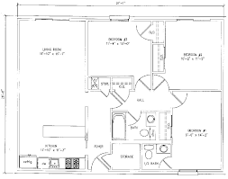 Modern Three Bedroom House Plans - 1000 square fit home 3rooms including three bedroom house plans