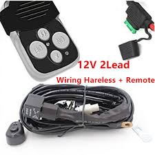 Sterling Condor Wiring Diagram 12v Lead 40a Remote Control Wiring Harness Kit Switch Relay Led