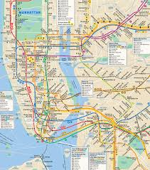 New York Bus Map by Mts Subway Map My Blog