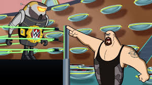 wwe stars jetsons clash animated movie collider