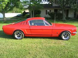 Red And Black Mustang Gt Candy Apple Red 1966 Ford Mustang Gt Fastback Mustangattitude