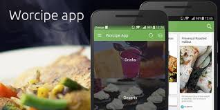 application android cuisine worcipe android recipe app source code food app templates for