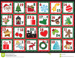 advent calendar advent calendar stock illustration image 45454500
