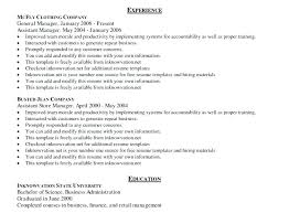 resume format in microsoft word resume exles word prettify co