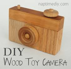 Homemade Wood Toy Chest by Diy Wood Toy Camera Naptime Diy