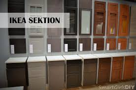 idea kitchen cabinets sektion what i learned about ikea s new kitchen cabinet line