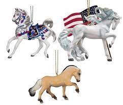 trail of the painted ponies 2017 ornament set