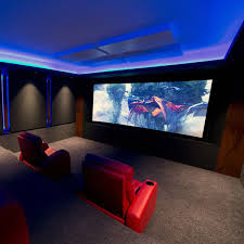 Home Theater Design Ideas For Men Movie Room Retreats - Design home theater