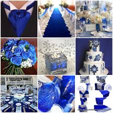 royal blue and silver wedding royal blue with silver and lace wedding reception classic