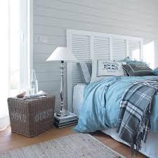 capitonne incruste lit matelas tete coucher coastal mural pour