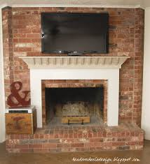 mounting tv in brick fireplace how to mount a tv on a brick
