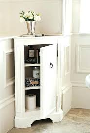 corner storage cabinet for bathroom living room with drawers
