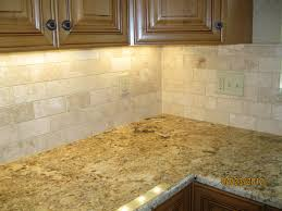 kitchen stunning floor lamp tile cabinets wall white brick chrome