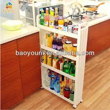 cuisine rangement bain baoyouni 4 mobil niveaux rack cuisine salle de bain pp étagère de