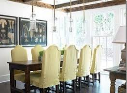 Linen Slipcovered Dining Chairs Slipcovered Dining Chair Foter