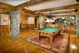 Rustic Pool Table Lights by Basement Design Rustic With Pool Table Lights Brown Shade