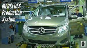mercedes factory mercedes v class manufacturing production u0026 assembly mercedes