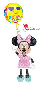 airwalker balloons delivered minnie mouse get well balloon airwalker 2 mylar balloons